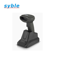 1D 2D handheld barcode scanner wireless 2d qr code reader bluetooth for Android /iOS