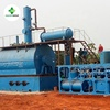 waste black engine oil / hydraulic oil recycling to diesel plant