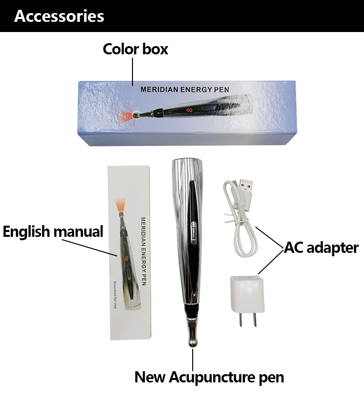 New design acupuncture laser electronic meridian energy pen / acupuncture laser pen