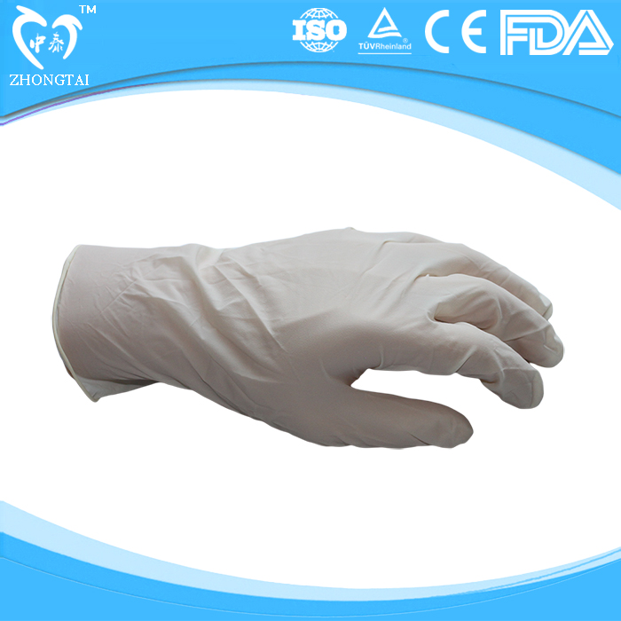 Surgical Disposable Latex Gloves Latex Examination Gloves