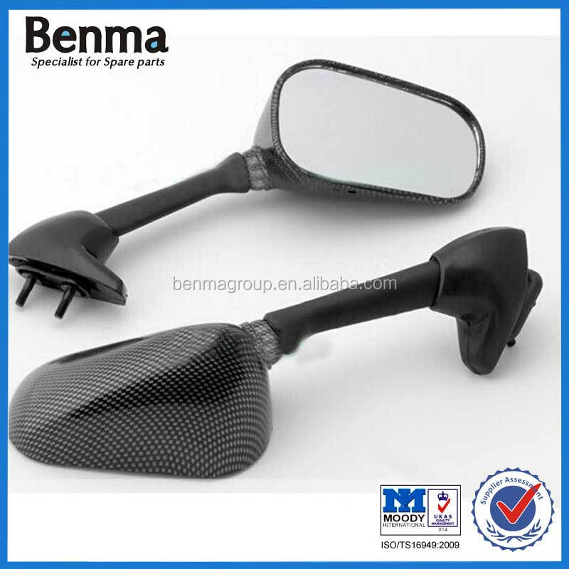 OEM Quality Motorcycle Side Mirror YZF R6,Yamah Motorcycle Side Mirror Carbon Color ,Good Price !