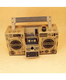 DIY Paper Cardboard boombox speaker with Amplifier can Custom Pattern