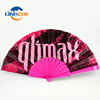 high quality custom plastic hand fan for promotion