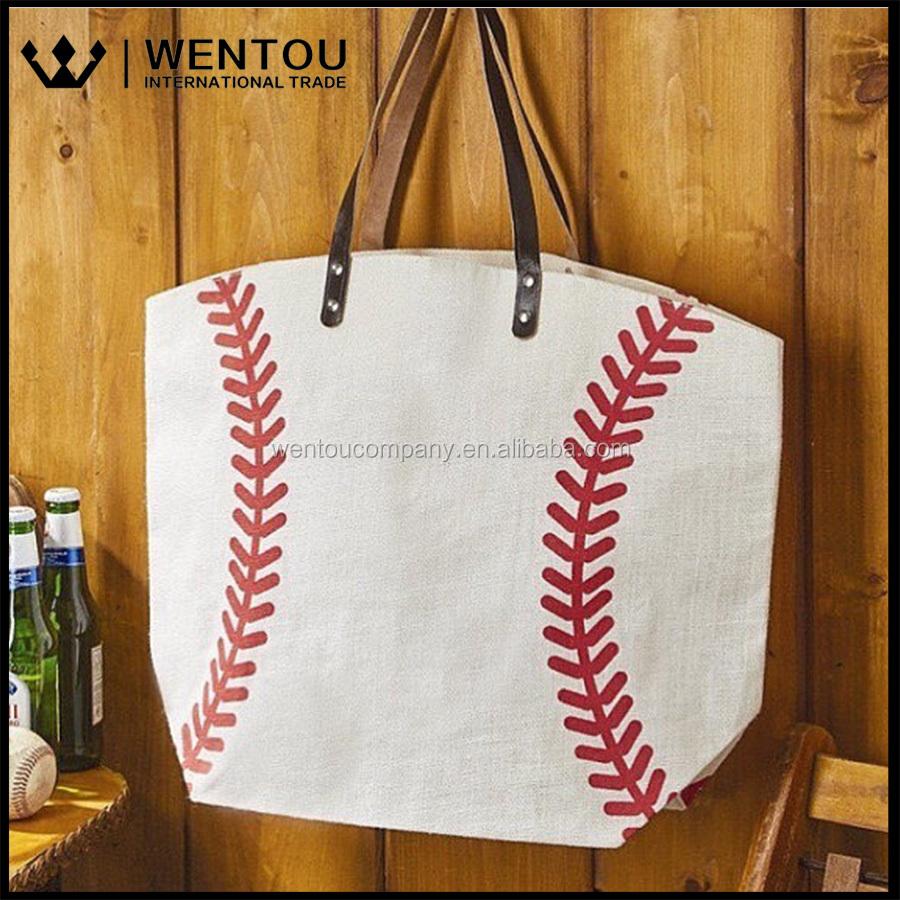 Tote bag in bulk - Wholesale Baseball Tote Bag Wholesale Baseball Tote Bag Suppliers And Manufacturers At Alibaba Com