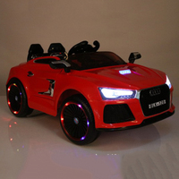 Hot Selling Audi Authorized Battery Operated Kids Electric Toy Car For Kids Driving