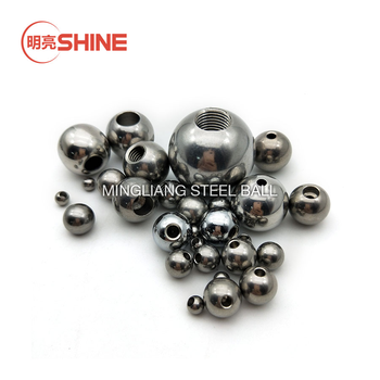 Customized Sizes Solid Stainless Steel Balls with Threaded Drilled Hole