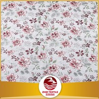 Shaoxing Manufacture 2016 European design 70% polyester 30% cotton big flower jacquard fabric for cloth curtain sofa