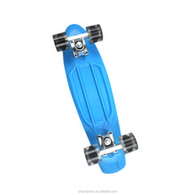 cheap mini children 22inch cruiser plastic skateboard longboard in 2018
