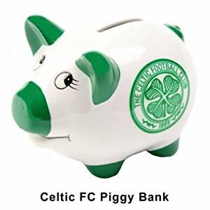 Celtic FC Crest Piggy Bank