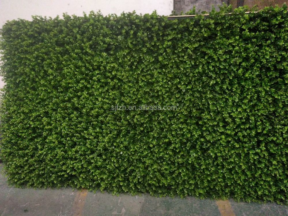 how to make a fake grass wall