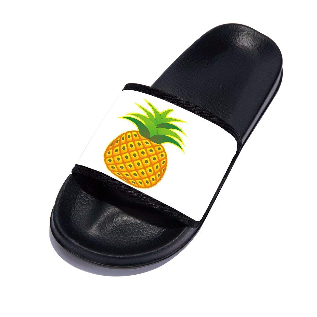 Little Kid//Big Kid GordonKo Slides Sandals for Boys Girls Anti-Slip Bathroom Shower Pool Beach Slippers