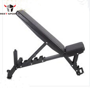 Factory supply gym equipment weights adjustable bench