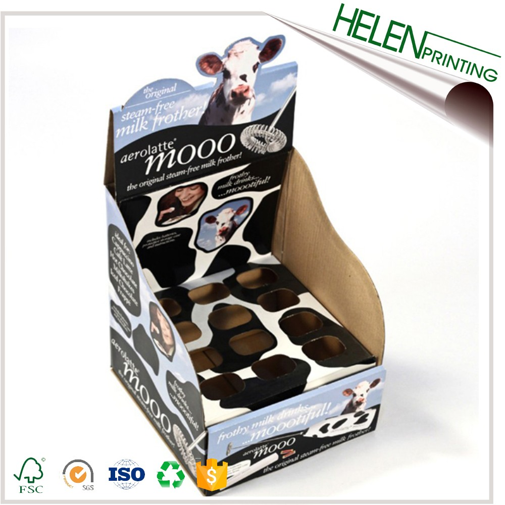 Custom promotional Gift Packaging cardboard corrugated corrugated carton display