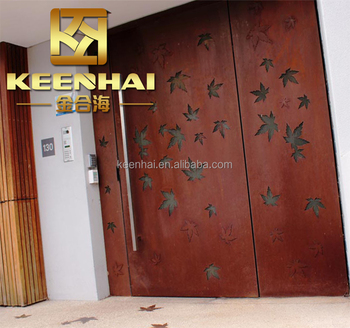 Ordinaire Metal Door Screen Corten Steel Material