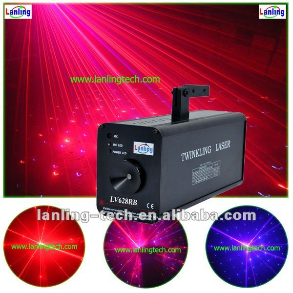 home party disco lighting RV laser
