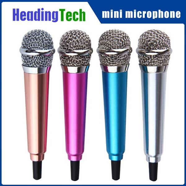 2016 hot selling steel material cell phone mini microphone for apple phone and android phone