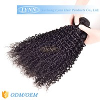 True length and standard weight baby curl human hair weaving