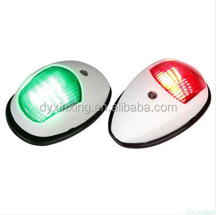 marine supplies red green boat marine navigation bow LED light