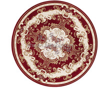 Special & Egyptian Style , Double Color, round mat, patterned pile Chenille Carpet
