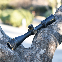 Sniper 3.5-10X40AOGL hunting optics rifle scope adjustable objective and 3-color illumination