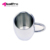 Exquisite stainless steel beer coffee milk tea cup for children or adult as drinking water cup