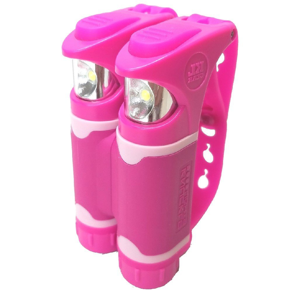 Knuckle Lights Colors 2 Units Provide Powerful /& Bright Night Visibility and Illumination Innovative LED Flashlight for Running /& Jogging Dog Walking Camping /& Hiking