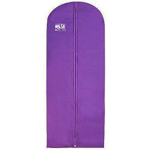 Cheap Printed Top Quality Nonwoven  Suit Cover purple garment bag