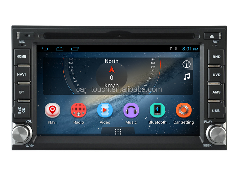 Android 2 din car dvd player with car dvd car radio with gps