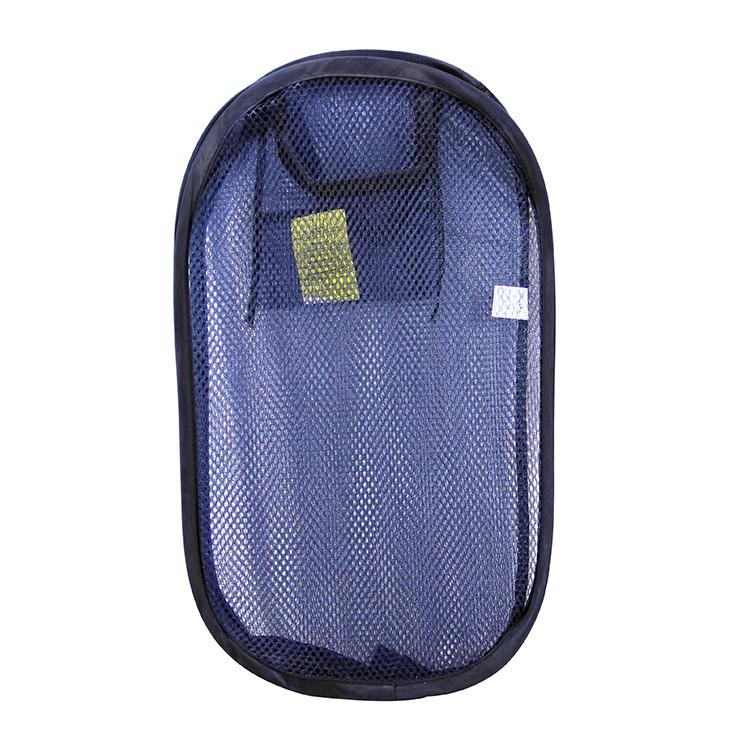 Folding Laundry Bag Cart Laundry Basket Collapsible Pop Up Storage ...