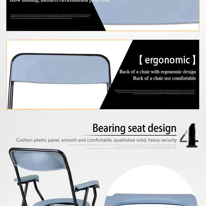 Adjustable Commodity Chairs For Disabled People Of Ding Bao - Buy ...