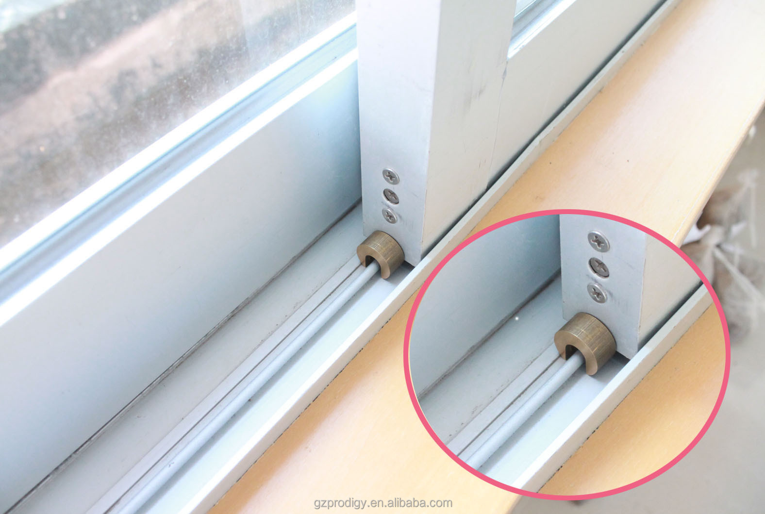 Easy Install Baby Safety Product Sliding Window Stop Lock