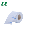 Custom printing thermal label roll with cheap price for shipping labels supermarket labels