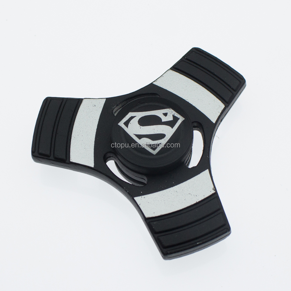game spinner superhero fidget hand spinner superman spinner