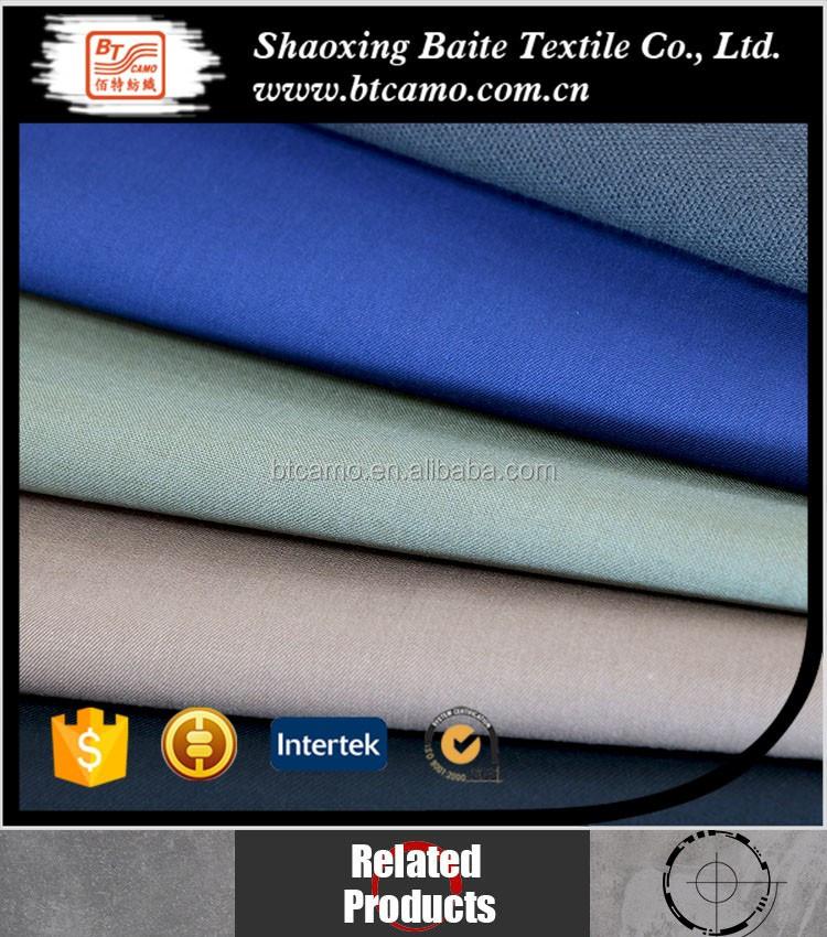 T/C 80/20 tejido de sarga tejido teñido de tela