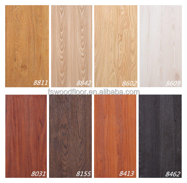 8mm ac4 relief hdf lumi re couleur parquet stratifi rev tement de sol id de - Couleur de stratifie ...