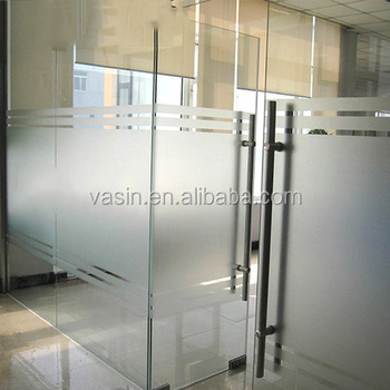 Waterproof Pvc Self Adhesive Frosted Sticker Gl Window Privacy Film For Bedroom Bathroom Office Decorative