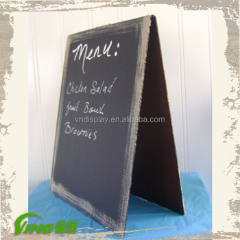 street stand sidewalk chalkboard portable folding rack promotional