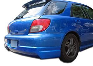 2002-2003 Subaru Impreza WRX STI 5DR Duraflex L-Sport Rear Lip Under Spoiler Air Dam - 1 Piece