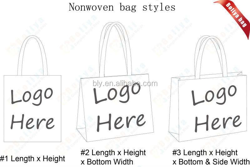 En kaliteli olmayan dokuma alışveriş çantası