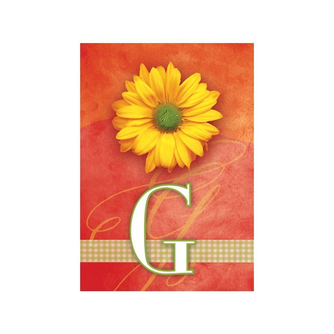 Buy Lvsure Flag Yellow Daisy Monogram G Garden Flags Decorative