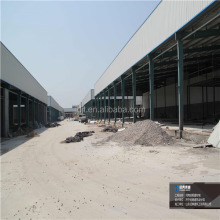 customized design light steel prefabricated H section quick build factory building