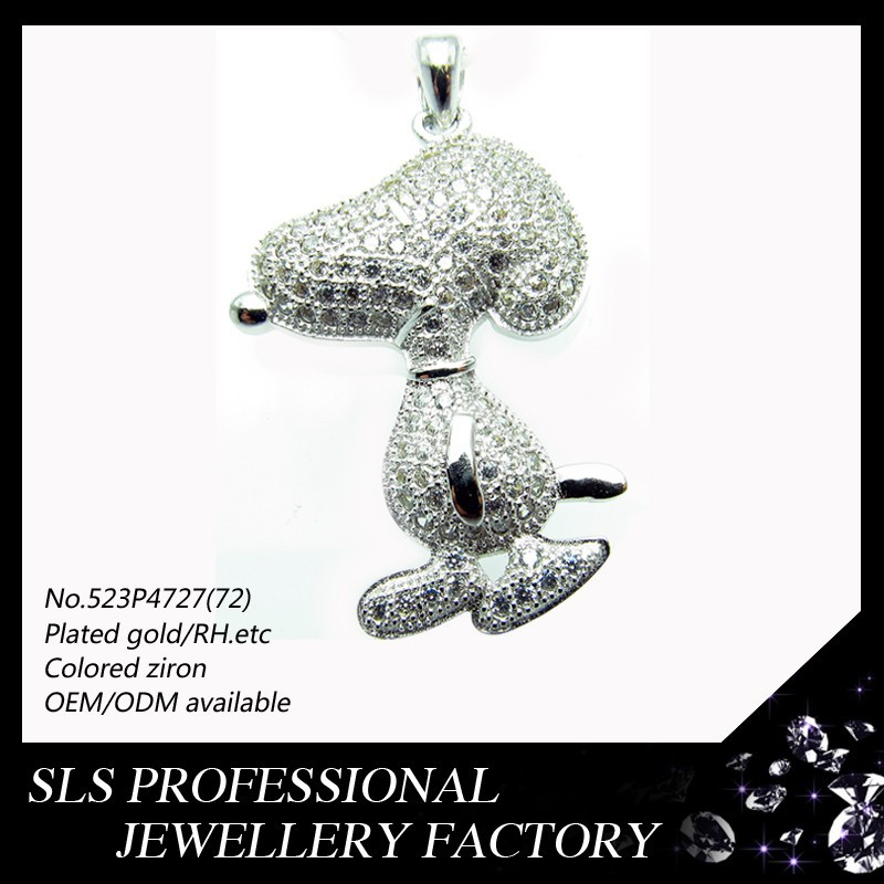 Gifts Dog pendant 925 sterling silver jewelry wholesale 2015 new products factory direct sale wholesale jewelry fashion