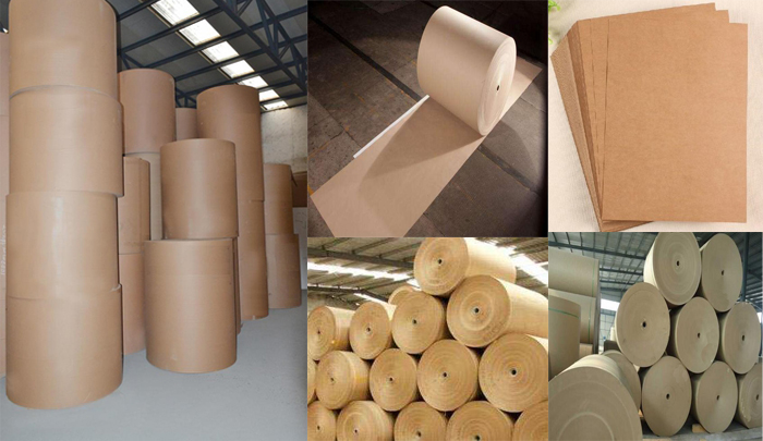 kraft paper corrugated paper fluting paper