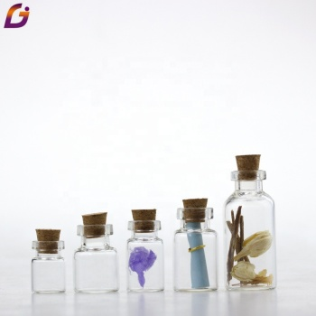 Factory  direct sale glass vial cork stopper