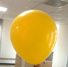 "Different color inflatable 36"" latex background balloons"