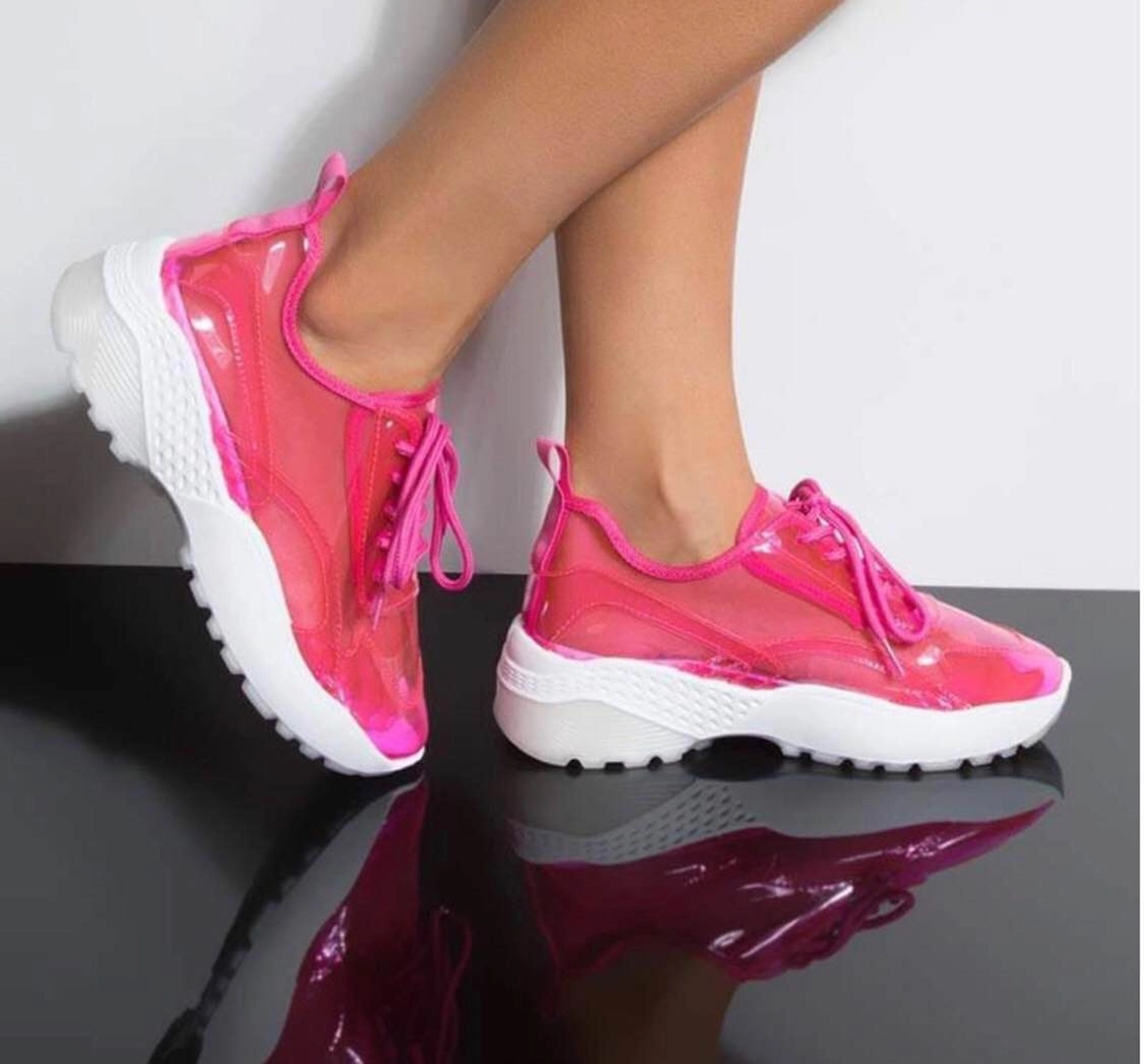 2019 hot selling latest custom logo summer pvc shoes running women