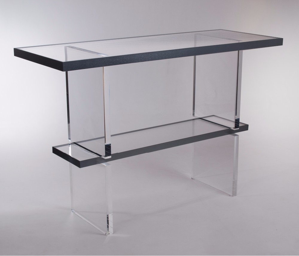 Wholesale high grade clear acrylic console tableperspex console wholesale high grade clear acrylic console tableperspex console table geotapseo Gallery
