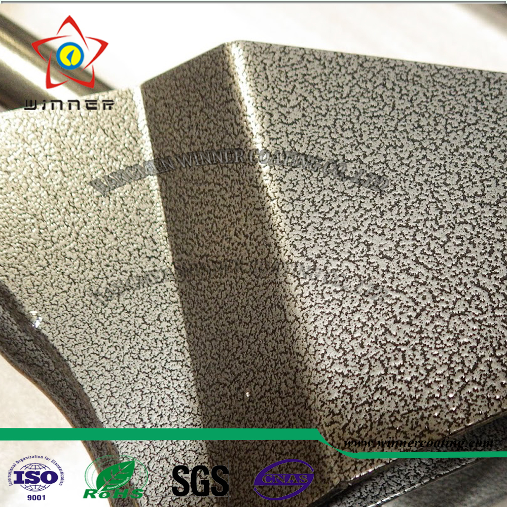 Outdoor use Gold texture Powder <strong>Coating</strong> with SGS report