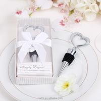 wedding supplies decoration bridal shower bachelor party wedding game gifts casamento wedding heart bottle stopper