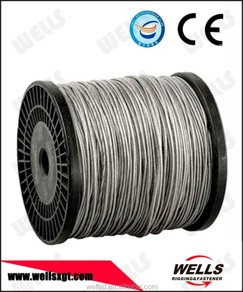 Linyi Wells Steel Wire Rope Diameter 38mm - Buy Diameter 38 Mm Wire ...